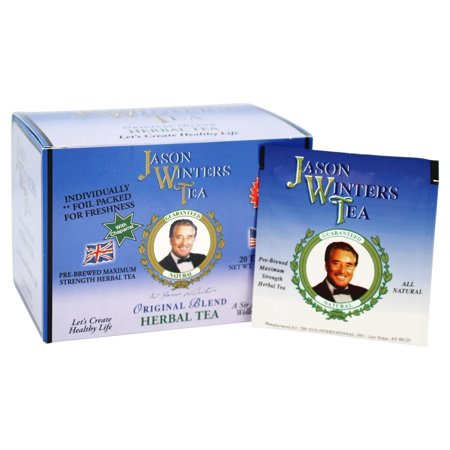 Jason Winters - Original Blend Tea with Chaparral - 20 Tea (Jason Winters Red Clover)