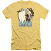 Miami Vice 80's Love Mens Slim Fit Shirt