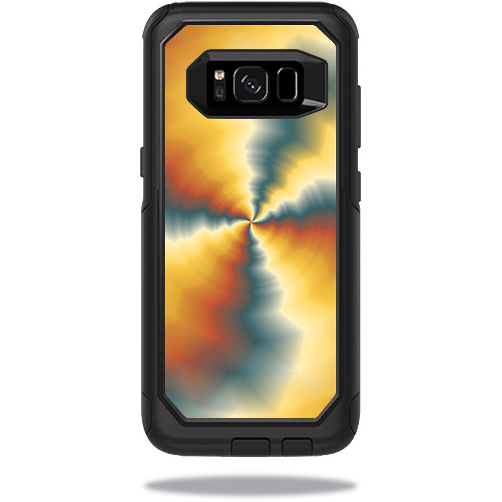 MightySkins Protective Vinyl Skin Decal for OtterBox CommuterSamsung Galaxy S8 Case sticker wrap cover sticker skins Eye Of The Storm