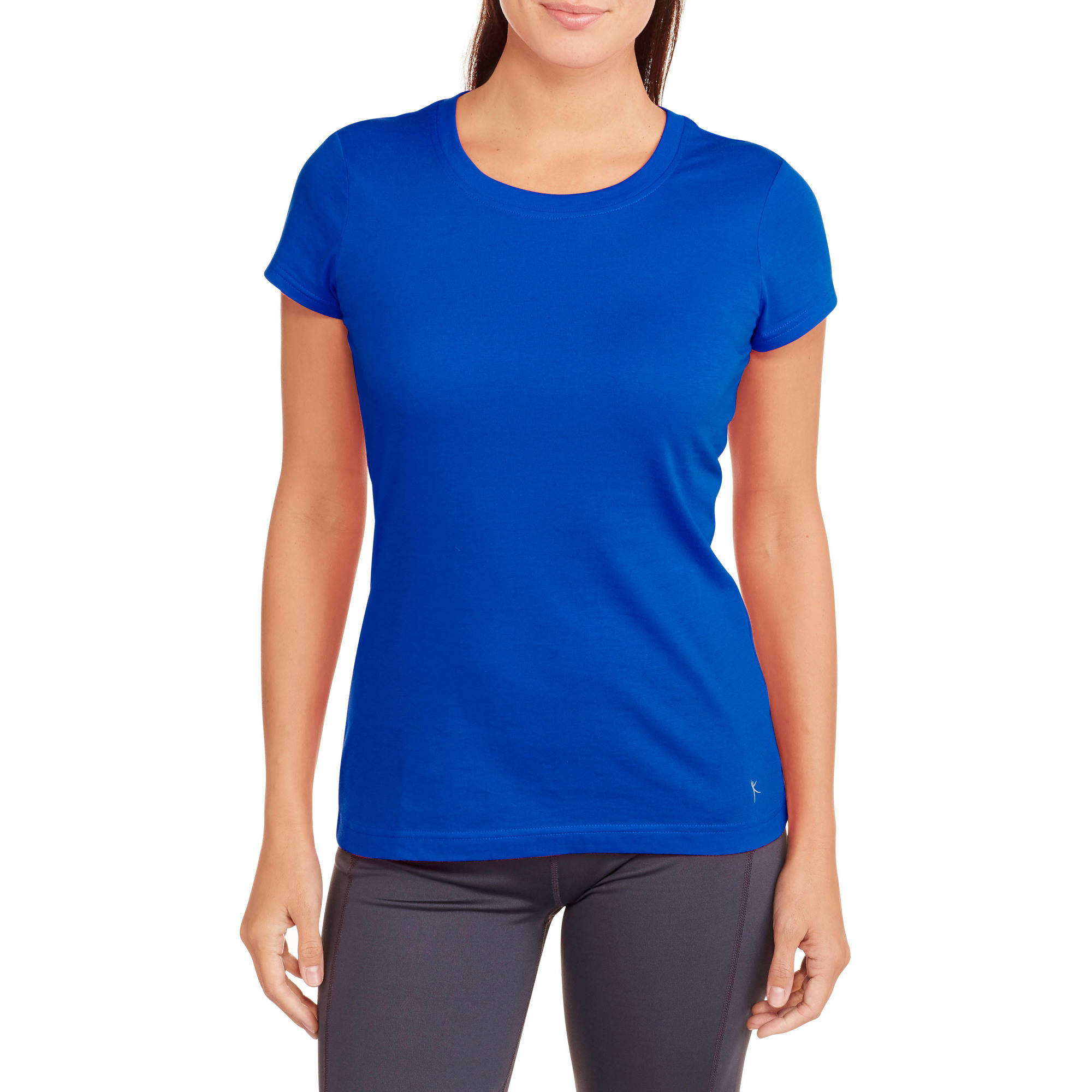 Danskin Now Women's Core Dri-More Crew Neck T-Shirt