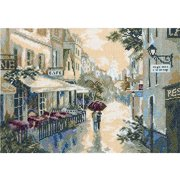 "After The Rain Counted Cross Stitch Kit-10.25""X7.125"" 18 Count, Pk 1, RTO"