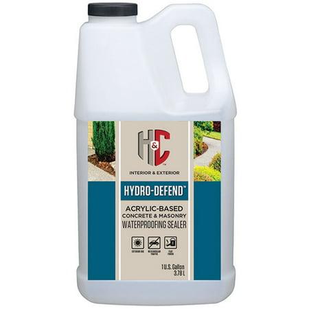 H&C Hydro-Defend water-based Concrete & Masonry Waterproofing Sealer (Best Waterproofing For Concrete Slab)