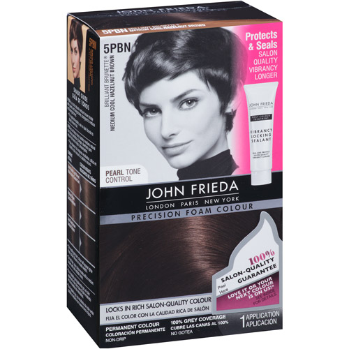 Achieve salon-perfect, flawless colour at home with Precision Foam Colour. Innovative, non-drip hair dye from John Frieda. Discover the range.