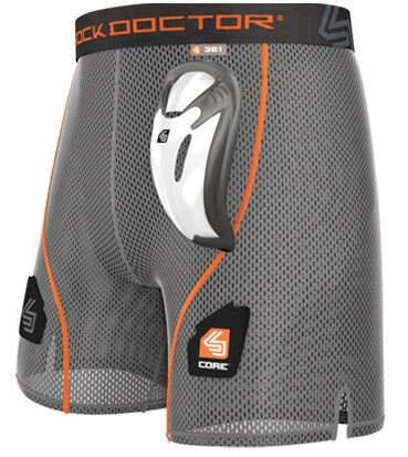 Shock Doctor 361 Core Loose Hockey Short - Youth