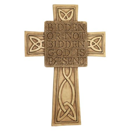 Design Toscano God is Present Celtic Cross Wall Sculpture