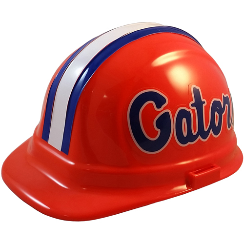 NCAA Florida Gators Hard Hats with Ratchet Suspension