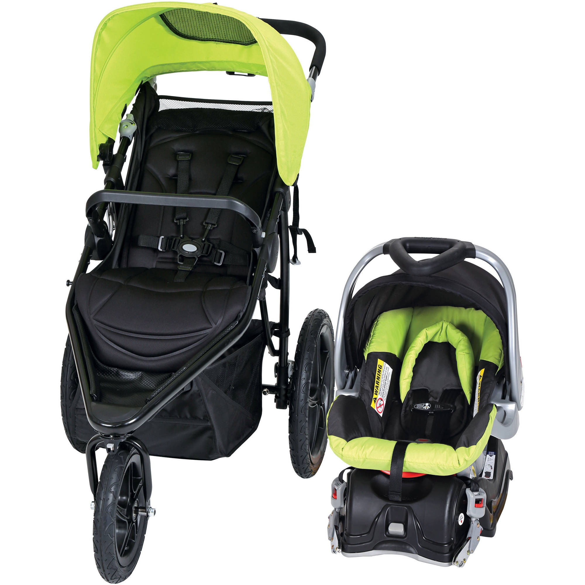 Baby Trend Stealth Jogger Travel System, Willow by Baby Trend