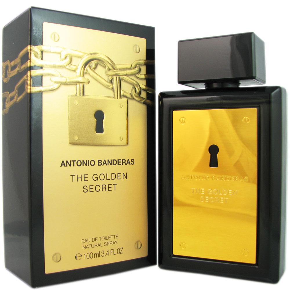 Banderas The Golden Secret Men 3.4 oz EDT