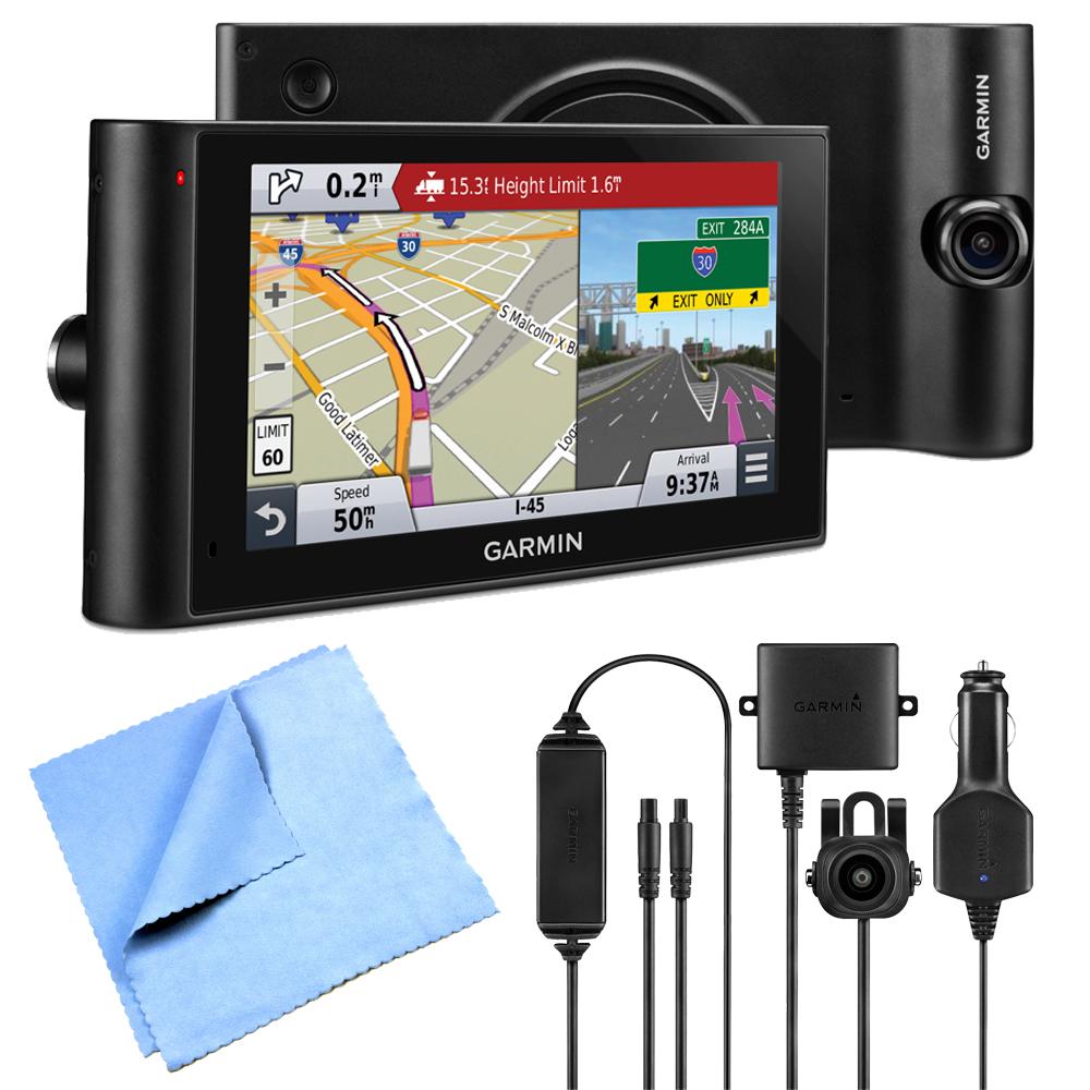"""Garmin dezlCam LMTHD 6"""" GPS Truck Navigator w/ Dash Cam W..."""
