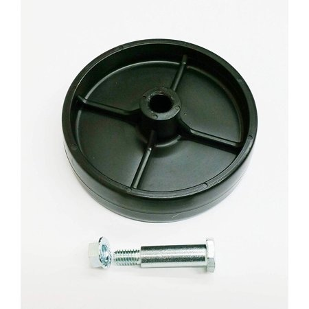 Rotary 430 Wheel, Shoulder Bolt KIT, Deck Wheel Plus Shoulder Bolt Plus Flanged Locknut By MTD Aftermarket