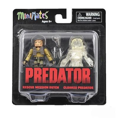 DIAMOND SELECT TOYS The Predator Movie Minimates Box Set =FREE SH=