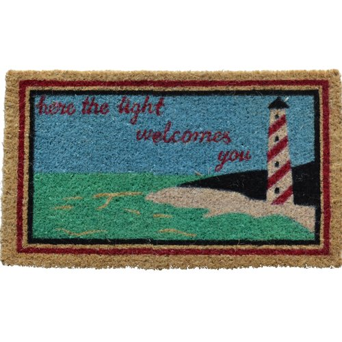 Imports Decor Creel Light House Doormat