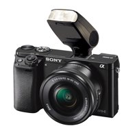 Sony Alpha A6000/A6300/A6500 Bounce, Swivel Head Compact Mult-Function Flash (Multi-Interface)