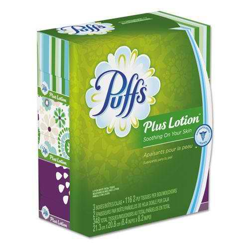 Procter & Gamble Plus Lotion Facial Tissue, 116/Pack 80212300