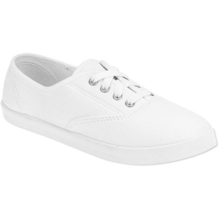 Lace Shoe Casual Women's Up Canvas uK1cTlFJ3