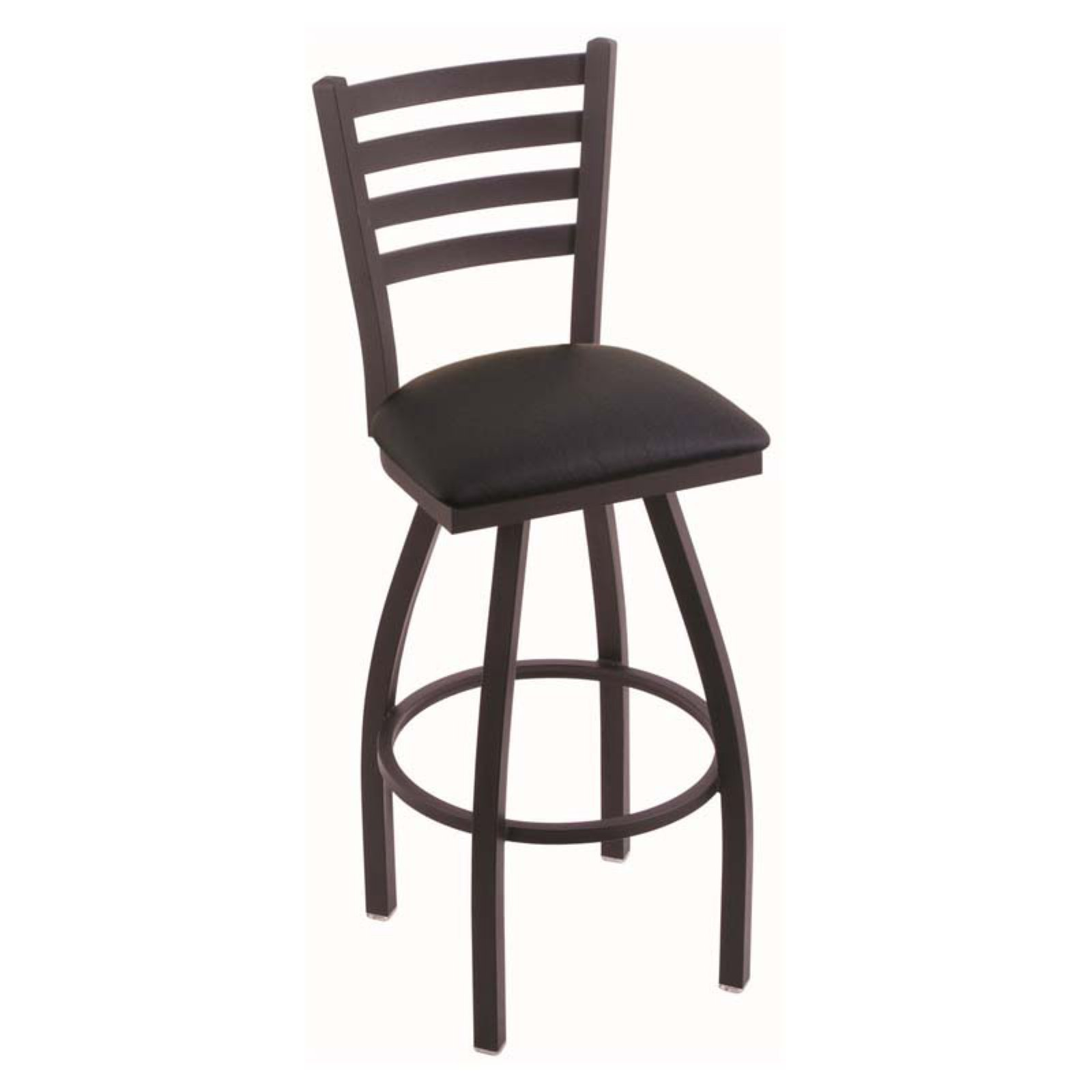 Holland Bar Stool Jackie 25 in. Swivel Counter Stool with Faux Leather Seat
