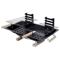 Home & Style Hibachi Charcoal BBQ Grill