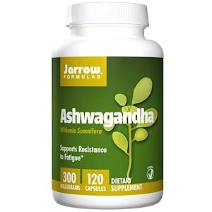 Jarrow Formulas, Ashwagandha, 300 mg, 120 Veggie Caps (Pack of 2)