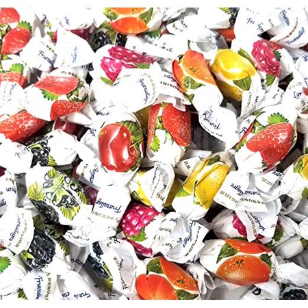 Perugina Fruttallegre, Fruit Hard Candy Assortment, 4 pounds (Gem Assortment)
