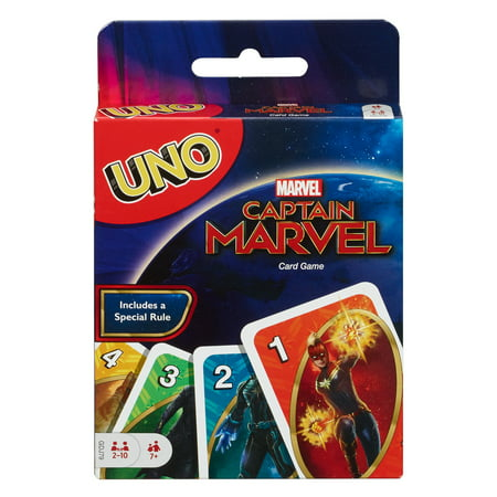 UNO Captain Marvel Card Game