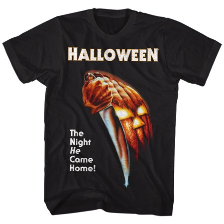 Halloween Scary Horror Slasher Movie Franchise Film The Night Adult T-Shirt](Scary Family Films Halloween)