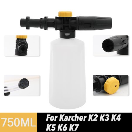 750ML Snow Foam Lance For Karcher K2 K3 K4 K5 K6 K7 Car Pressure Washers Soap Foam Generator With Adjustable Sprayer Nozzle -  KKmoon