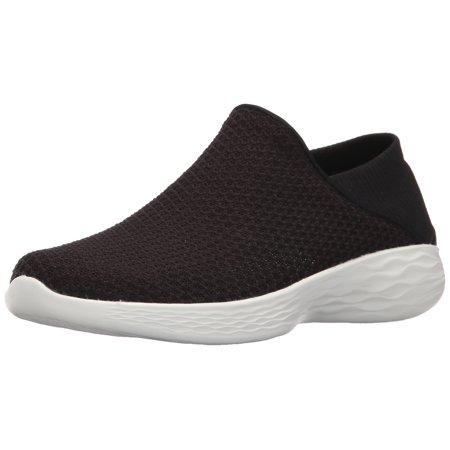 SKECHERS Women's YOU Shoes BlackWhite