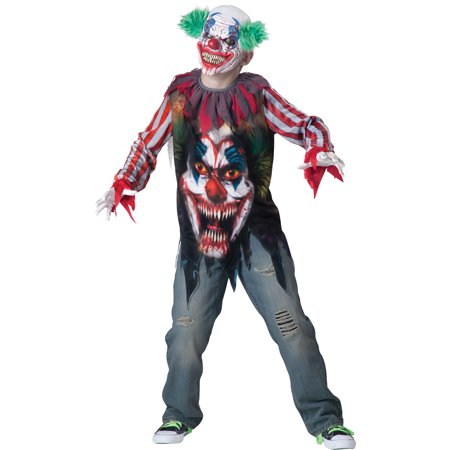 Big Top Terror Boys Child Halloween Costume, One Size, XS (6) (6 Nong Halloween)