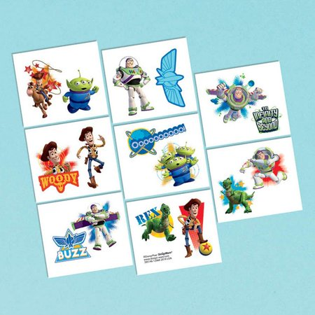 Toy Story Tattoo Favors (16 Pack) - Party Supplies - Toy Story Tattoo