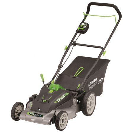 """Earthwise 60418 18"""" 40-Volt Lithium Ion Cordless Electric Lawn Mower (Battery and charger included)"""