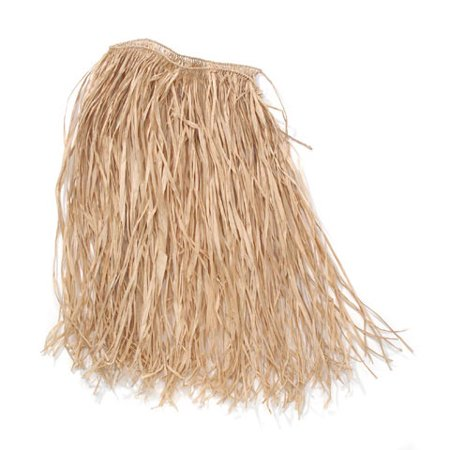 Raffia Hula Skirt - Adult Size - Natural - Kids Hula Skirt
