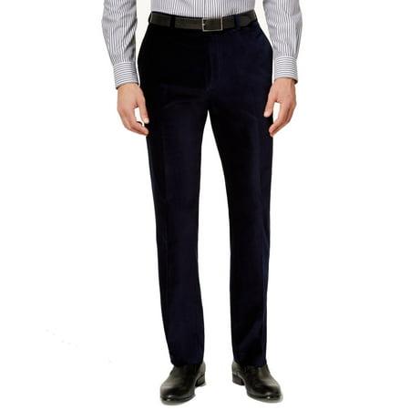 Calvin Klein Mens 30X30 Slim Fit Dress Flat Front Pants