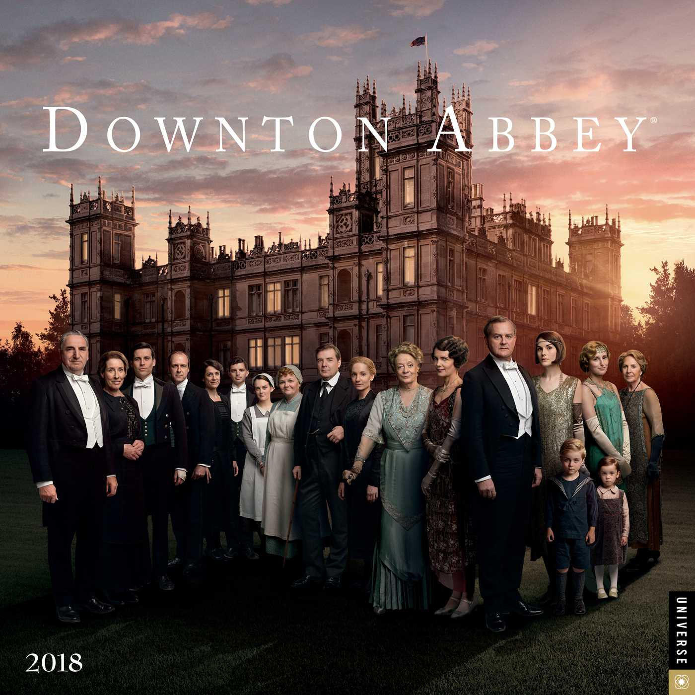 Downton Abbey 2018 Wall Calendar