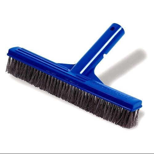 Hydro Tools 8240 10-Inch Stainless Steel Concrete Pool Brush Multi-Colored