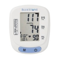 Bluestone Automatic LCD Wrist Blood Pressure Monitor, Adjustable Cuff & Storage Case