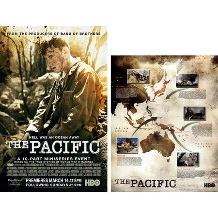 The Pacific POSTER Movie C (includes FREE 11 x 14 Battle Map) Mini Promo