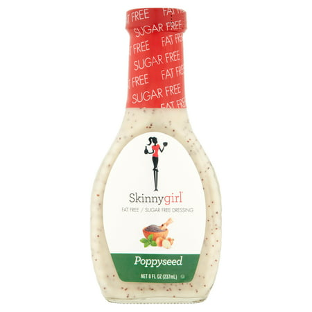(3 Pack) Skinnygirl Poppyseed Salad Dressing, 8 Fl Oz - Halloween Pasta Salad Dressing