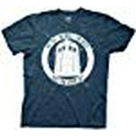 Doctor Who No Boss No Bills Mens Navy Blue T-Shirt | XXL