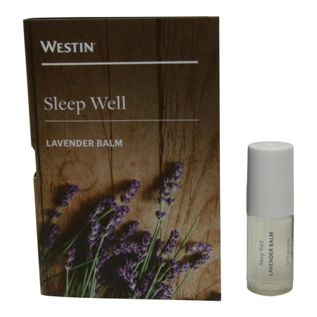 Balm Lavender - Westin Sleep Well Lavender Balm lot of 3 each 3ml. Total of 9ml