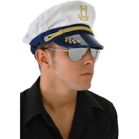 Captain Cap Adult Halloween Accessory - Captain Hat Halloween