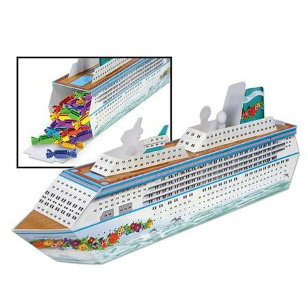 The Beistle Company Cruise Ship Centerpiece