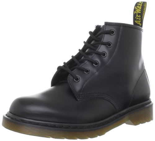 Dr. Martens 10064001: Men's 101 Boot Black Smooth by Dr. Martens