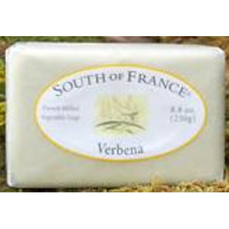 French Milled Soap Bar Lemon Verbena South of France 6 oz Bar