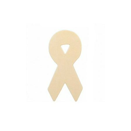 - MyCraftSupplies Set of 10 Unfinished Wood Awareness Ribbons, Decorate your Ribbon for a Cause