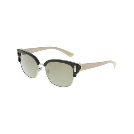 Bvlgari Women's BV8189-897/5A-55 Brown Cat Eye Sunglasses