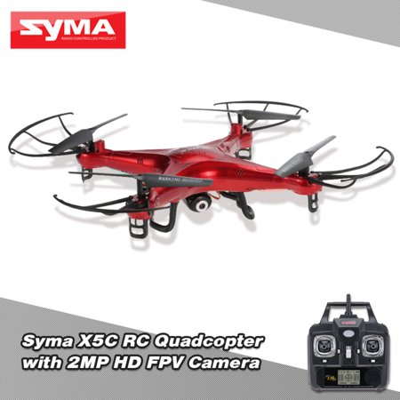 Original Syma X5C 2.4GHz 4CH 6-Axis Remote Control RC Quadcopter with 2.0MP HD Camera