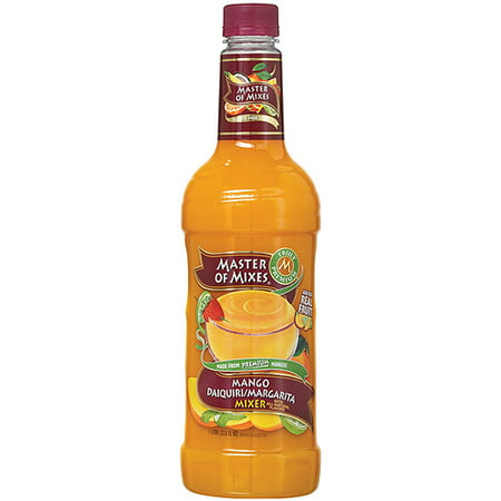 Master of Mixes Margarita Mixer, Mango Daiquiri, 33.8 Fl Oz, 1 count (Mango Margarita Recipe)