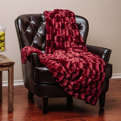 Chanasya Super Soft Cozy Sherpa Fuzzy Fur Warm Throw Blanket