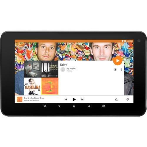 """Ematic EGQ377 8 GB Tablet - 7"""" - Wireless LAN - Quad-core (4 Core) 1.20 GHz - Red - 1 GB RAM - Android 5.1 Lollipop - Sl"""