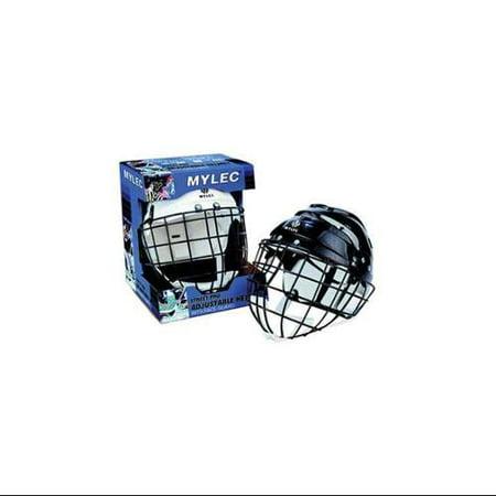Mylec Inc Mylec Jr.Helmet W/Cage Bl Na